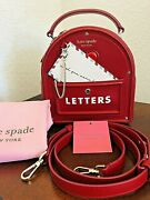 Kate Spade Yours Truly 3d Mailbox Red Currant Limited 2021 Heart Love Novelty