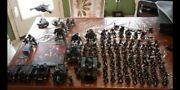 Massive Death Watch Army Each Shoulder Pad Is Different