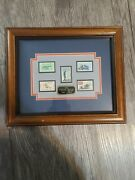 Civil War Stamp Collection 5 Stamps 1861-1865