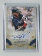 2021 Christian Pache Topps Tier One Sp Auto 192 /300 Mint Braves