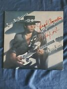 Stevie Ray Vaughan Signed Autographed Texas Flood Lp Cover