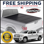 Undercover Ultra Flex Tri-fold Cover For 2007-21 5.6and039 Bed Crewmax W/ Cargo Syst