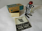 Vintage Toy Outboard Motor-1954 Atwood Gas Powered Outboard- Model Boat Motor