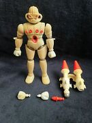 Mego Magno- Micronauts Force Commander With Instructions Pre Owned