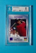 1996 Sports Illustrated Si For Kids 536 Tiger Woods Rookie Card Rc Bgs 8 Psa