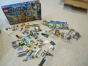 Lego Legends Of Chima The Lion Chi Temple Set 70010 , 7 Minifigs