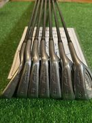 Tommy Armour 855s Silverscot Irons Set 3-6 Iron 8-9-sw Reggraphite Shafts
