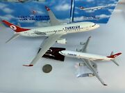 Turkish Airlines A340 And Turkish Airlines 737-800 Diecast Models - Collectible
