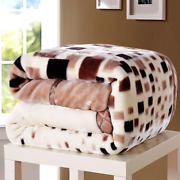 2-6 Kilograms Thick Warm Fluffy Super Soft Blankets Double Layer Winter Throw