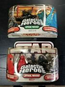 Star Wars Galactic Heroes Darth Vader And Holographic Emperor Figure And Royal Guard