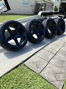 2018 Dodge Charger Hellcat Srt 6.2 4dr 4 Oem Wheels And Tires 20x9.5 275/40/20