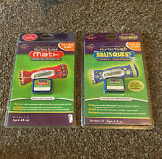Turbo Twist Brain Quest And Math Cartridges 1st And 2nd Grade Games Lot Sealed