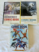 Overstreet Comic Book Price Guide Lot 33, 36, 42 Large Format