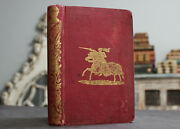 Rare Antique Old Book Tales Of Chivalry 1857 1st Edition Illustrated Scarce Work