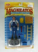 Rare Vintage Magneatos Toy Figure 3100 Leek Nip By Front Porch Toys