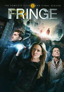 Fringe Complete 5th Fifth And Final Season 5 Five New 4-disc Dvd Set