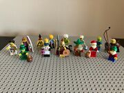 Lego Minifigures Series 2 3 4 6 8 10 13 14 Total Of 14 Figures Complete