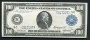 Fr. 1092 1914 100 Frn Federal Reserve Note Philadelphia Pa About Uncirculated