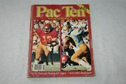 1979 Athlon's Pac-ten 10 College Football Annual 2nd Issue Ever
