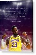 Nba Basketball-the King Lebron James Paper Posters Or Canvas Framed Wall Art