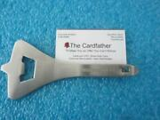 Air France Concorde Airplane Stainless Heavy Metal Can Bottle Opener Scarce Rare