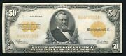 Fr. 1200 1922 50 Fifty Dollars Gold Certificate Currency Note Extremely Fine