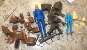 Marx Toys Johnny And Josie West With Lots Of Accessories Free Shipping