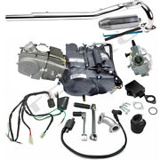 Lifan 150cc Engine Motor Exhaust Kit For Dirt Pit Bike Crf50 70 Coolster Ssr 125