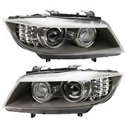 For Bmw 328i 335i Xdrive And 335d Pair Hella Left And Right Headlight Set