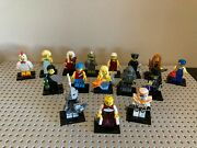 Lego Minifigures Series 9 With 16 Of 16 Figures - Only Missing 1 Piece