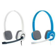 Logitech H150 Stereo Computer Headset Dual Plug With Microphone All Colours Ps