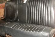 1961-64 Chev Impalabiscaynebel Air Rear Seat W/speaker 2dr Ss Coupe Black