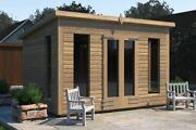 8x6-14x12 And039don Morrisand039 Wooden Garden Shed/studio/summerhouse Heavyduty Tanalised