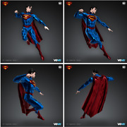 Veve Nft -- Superman Man Of Steel - Series 1 -- /8888 -- Sold Out