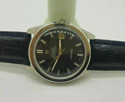 Vintage 1967 Omega Chronometer Black Dial Date Cal564 Auto Man's Watch