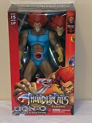 Thundercats Classic Lion-o Deluxe Edition Mezco W/ 2 Heads, Sword And Shield 2017