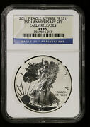 2011 P Reverse Proof Silver Eagle Ngc Pf 69 Early Releases