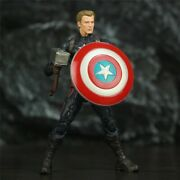 Captain America 6 Action Endgame 1/12 Figures Pvc Collectible Kid New Model Toy