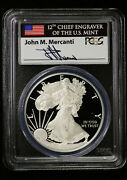 2013 W Proof Silver Eagle Pcgs Pr 70 Dcam | First Strike Mercanti Signed