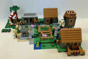 Lego Minecraft 21128 The Village 99.5 Complete Includes Box And Manuals