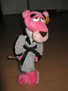Vintage 1980 16 Pink Panther Plush Poseable Touch Of Velvet Tagged