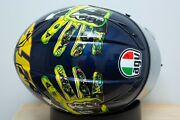 Agv Gp Tech Mugello Valentino Rossi Hands On Head 2009 Size Large 833 Of 2000