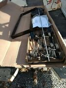 Tow Lawn Attachment Rake Dethatcher Agri Fab 40 In. Behind Riding Mower Tractor