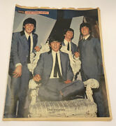 Beatles Magazine-new York Daily News Sunday Supliment Section-1964