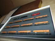 Con Cor N Great Northern Mikado Steam Engine And 12 Boxcars And Caboose In Orig.box.