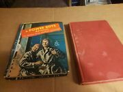 Antique Mid-century Collector's Books Power Boys Adventure And Boy's Life Stories