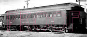 Tonopah And Tidewater Tandt Dining Car 506 At Death Valley In 1941 - 8x10 Photo