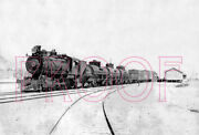 Tonopah And Tidewater Tandt Engine 8 At Death Valley In 1934 - 8x10 Photo