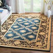 Safavieh Couture Hand-knotted Florence Shirl Traditional Ivory/black 9and039 X 12and039