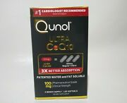 Qunol Ultra Coq10 Better Absorption Supplement Tablet 120 Count Exp01/25